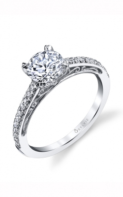 Sylvie Sidestone Engagement Ring S1533-020A4W10R product image
