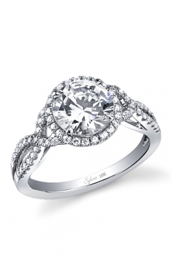 Sylvie Halo Engagement ring SY260-0036/A4W product image