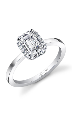 Sylvie Halo Engagement ring SY293-0028/APL product image