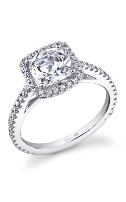 Sylvie Halo Engagement ring SY590-0041/APL product image
