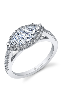Sylvie Halo Engagement ring SY590-34APL17M product image