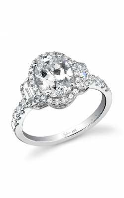 Sylvie Halo Engagement ring SY596S-0066/APL product image