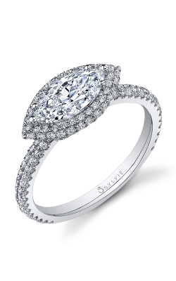 Sylvie Halo Engagement ring SY630-056APL10M product image