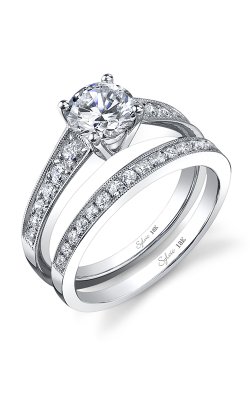 Sylvie Sidestone Engagement ring SY708-0035/A4W product image
