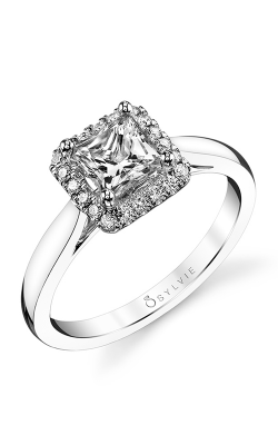 Sylvie Halo Engagement ring SY729-0016/A4W product image