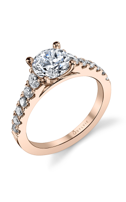 Sylvie Sidestone Engagement ring S1127-060A4W10R product image