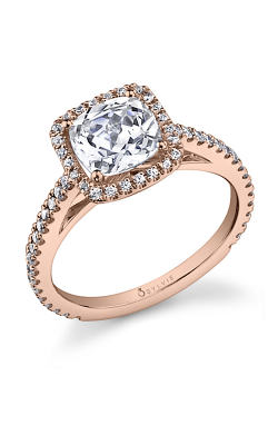 Sylvie Halo Engagement ring SY590-0041/A8W product image