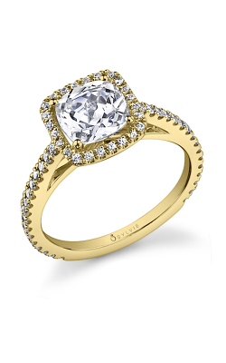 Sylvie Halo Engagement ring SY590-0041/A4W product image