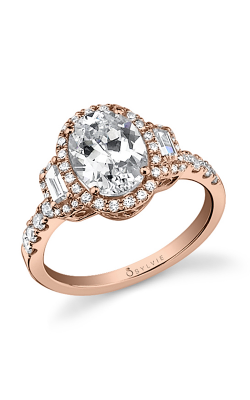 Sylvie Halo Engagement ring SY596S-0066/A8W product image