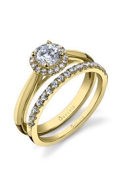 Sylvie Halo Engagement ring SY729-0014/A8W product image
