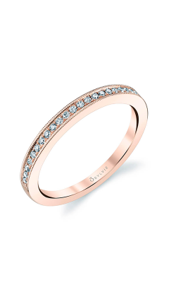 Sylvie Wedding Bands Wedding band BSY310-1-A6453D4R10R product image