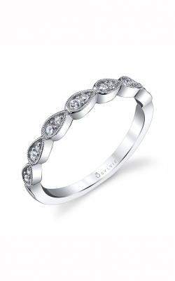 Sylvie Wedding Band B0020-0019/D4W product image