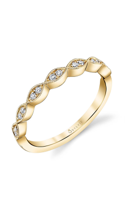 Sylvie Wedding Bands B0009-0010/D4Y product image
