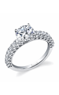 Sylvie Sidestone Engagement ring SY081S-0110/A4W product image
