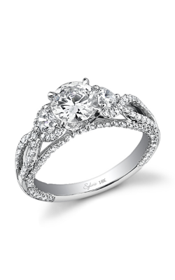 Sylvie Three Stone Engagement ring SY272S-55A4W1R product image