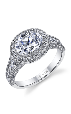 Sylvie Halo Engagement ring SY978-055A4W86O product image