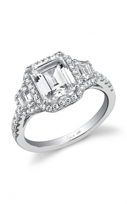 Sylvie Halo Engagement ring SY475S-0073/A4W product image
