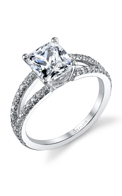 Sylvie Sidestone Engagement ring S1101-039A4W20C product image