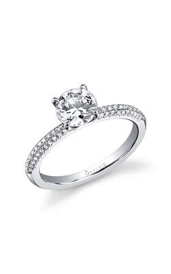 Sylvie Sidestone Engagement ring SY356-0020/A4W product image