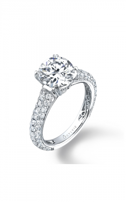 Sylvie Sidestone Engagement ring SY093-0113/APL product image