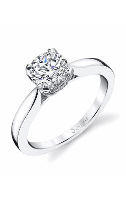 Sylvie Sidestone Engagement ring S1398-014APL10R product image