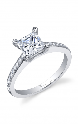 Sylvie Sidestone Engagement ring S1010-019APL10P product image