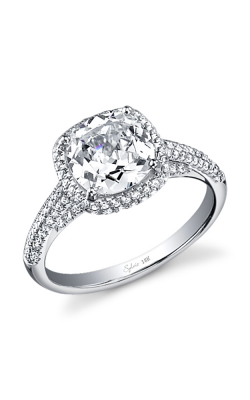 Sylvie Halo Engagement ring SY567-0075/A4W product image
