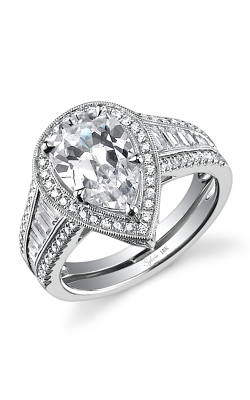 Sylvie Halo Engagement ring SY637-0116/A4W product image