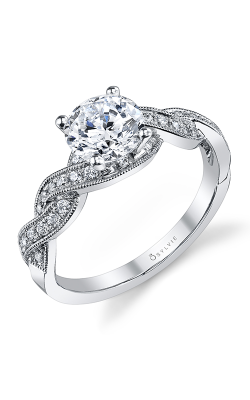 Sylvie Sidestone Engagement ring S1094-025APL12R product image