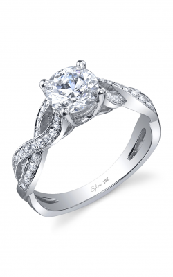 Sylvie Sidestone Engagement ring SY899-026APL10R product image