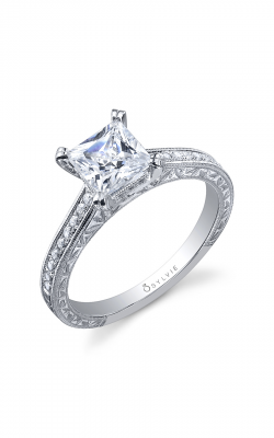 Sylvie Sidestone Engagement ring SY885-019APL10P product image