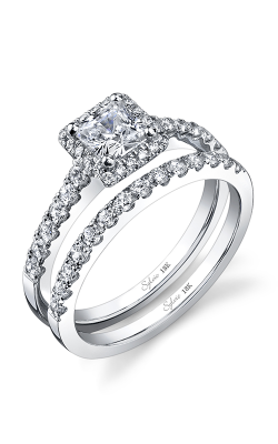 Sylvie Halo Engagement ring SY697-0033/A4W product image