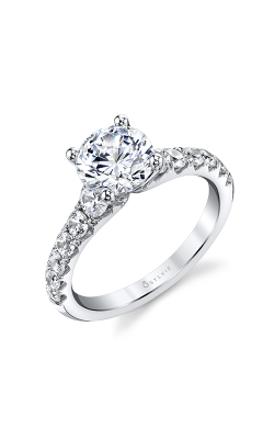 Sylvie Sidestone Engagement Ring S1861-086A4W15R product image