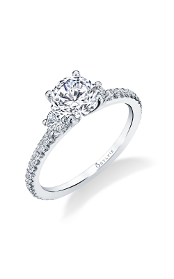 Sylvie Three Stone Engagement Ring S1702S-039A4W10R product image