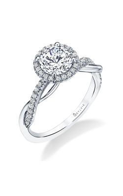 Sylvie Halo Engagement ring S1724-023A4W10RR product image