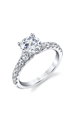 Sylvie Sidestone Engagement Ring S1861-086A8W15R product image