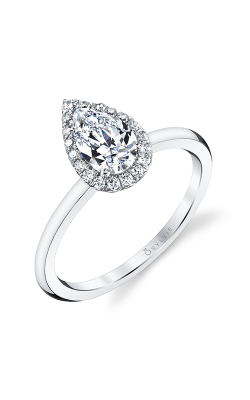 Sylvie Halo Engagement ring S1993-013APL10T product image