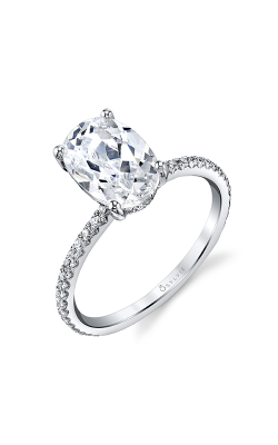 Sylvie Sidestone Engagement ring S2093-037A8W20O product image