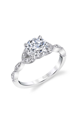 Sylvie Sidestone Engagement Ring S1925-008A4W15R product image