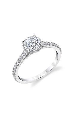 Sylvie Sidestone Engagement Ring S1944-031A4W10R product image