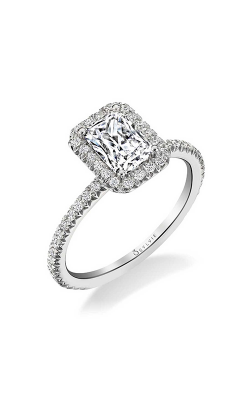 Sylvie Halo Engagement Ring S1793-033A8W10E product image