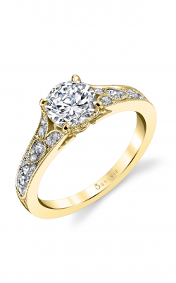 Sylvie Sidestone Engagement ring S1389-030A4Y12R product image