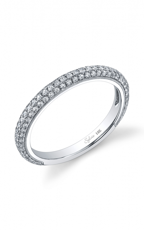 Sylvie Wedding band BSY090 product image