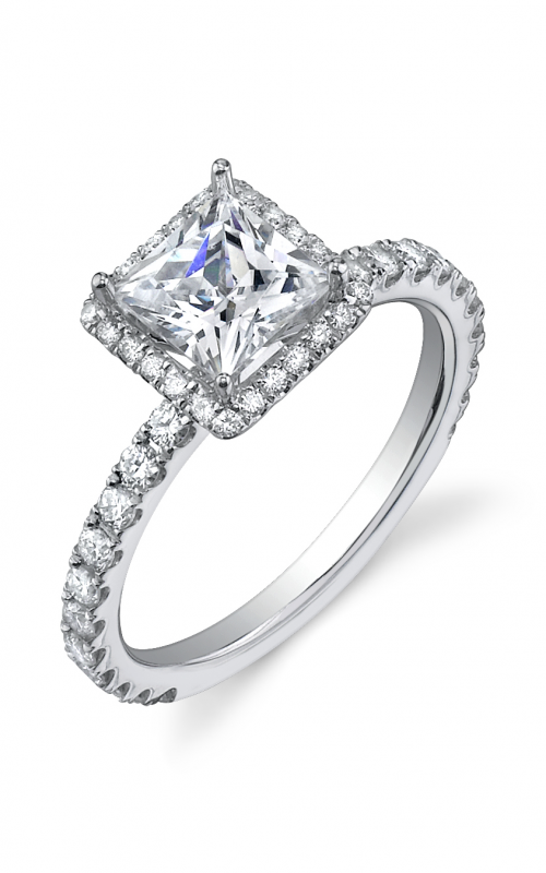 Sylvie Halo Engagement ring SY174-0062/A8W product image