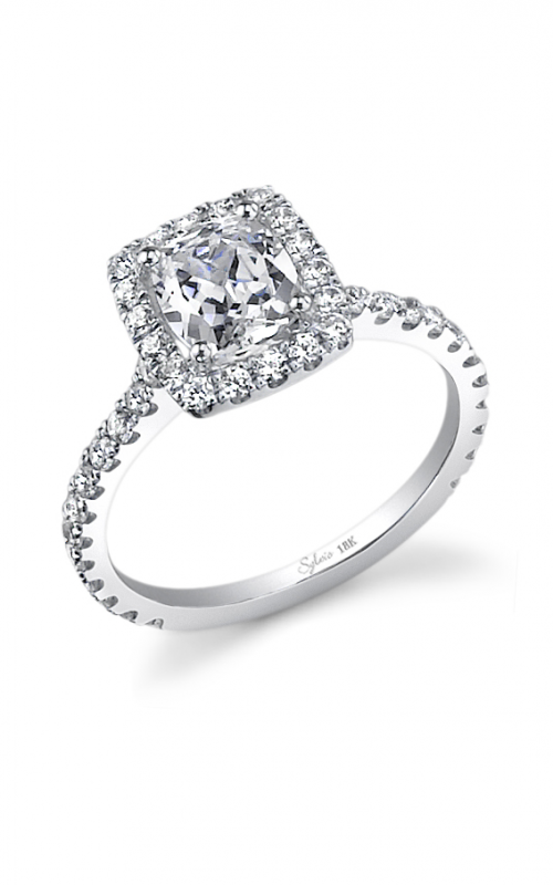 Sylvie Halo Engagement ring SY321-0068/A8W product image