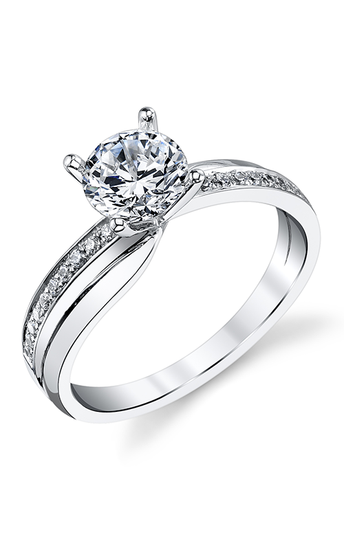 Find Sylvie S1218-013A8W10R Engagement rings   The Diamond Room