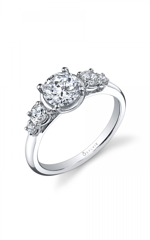 Sylvie Sidestone Engagement ring SY866S-25A8W10R product image