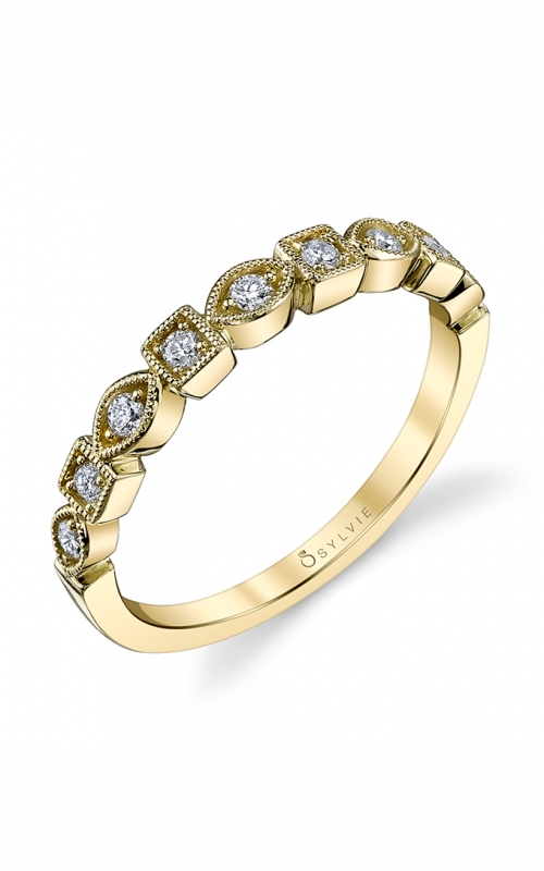 Sylvie Wedding band B0017 YELLOW product image