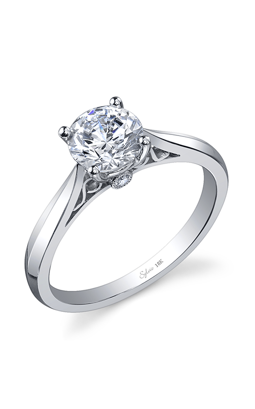 Sylvie Solitaire Engagement ring SY904-003APL10R product image