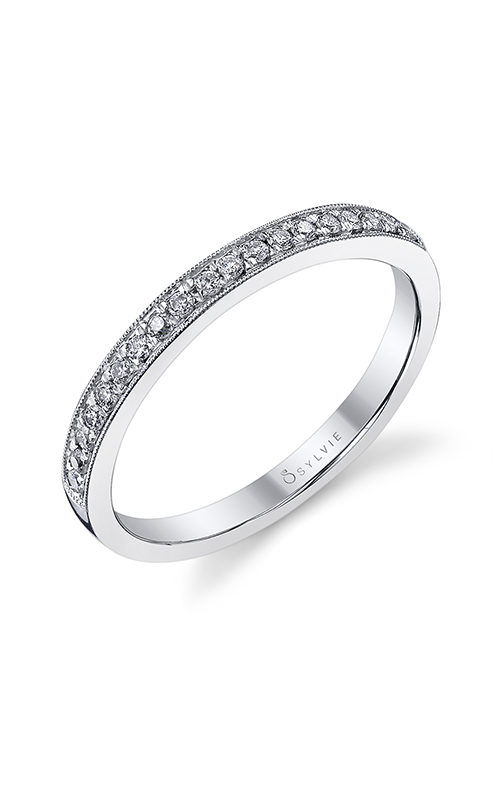 Sylvie Wedding Band BSY821-17A4W10R product image